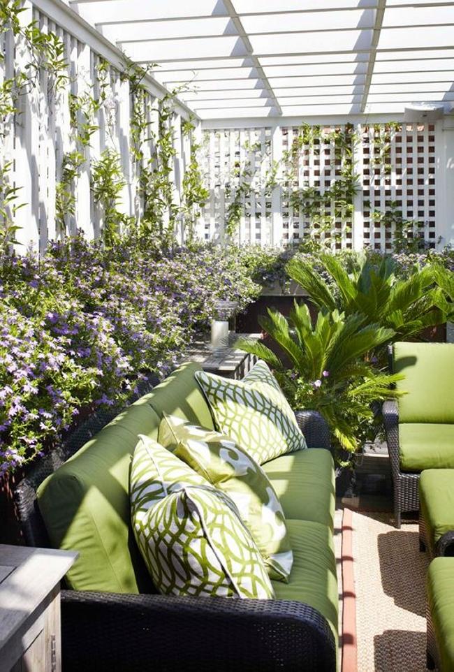 Garden in Pergola Deck 9