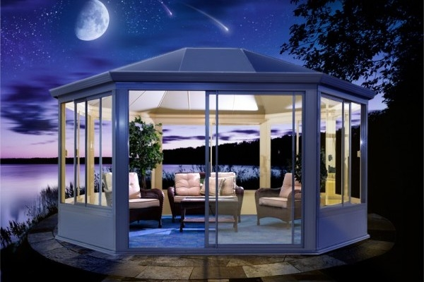 Amazing Styles of Glass Gazebo for Your Home