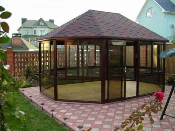 Glass Gazebo for Your Home