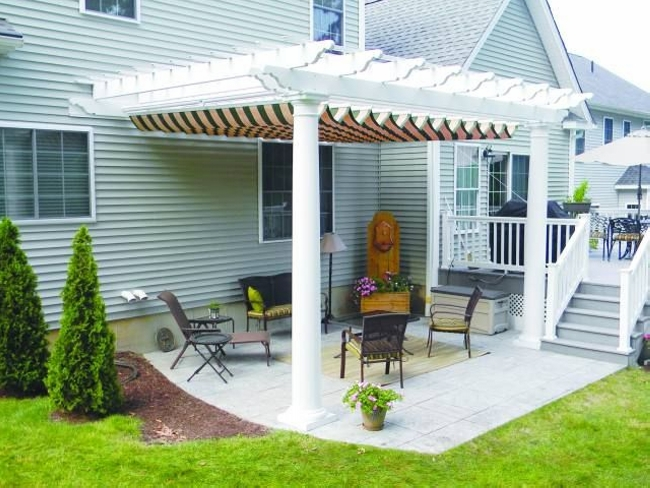 pergola products barrie tent awnings system structures awning top services terrace pergolas and ontario