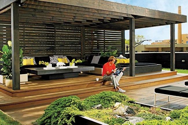 Pergola Roof Styles 5