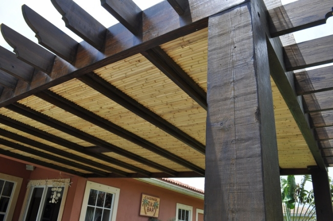 Pergola Roof Styles 7