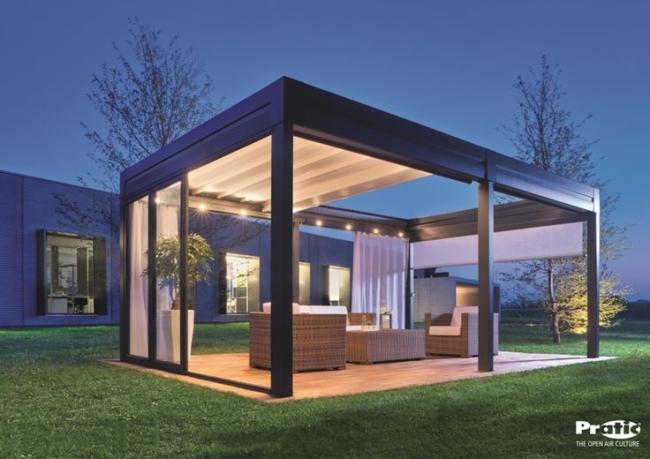 Pergola Roof Styles 8