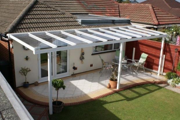 Plexiglas Roof Panels 2