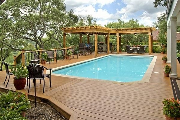 Pool Shade Ideas for Pergolas 1