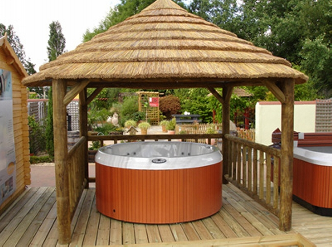 Private Hot Tub Gazebo Ideas 1