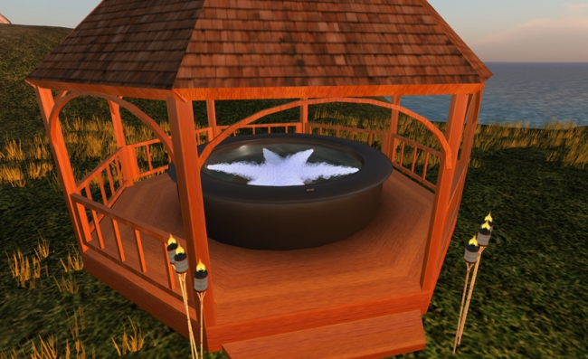 Private Hot Tub Gazebo Ideas 14