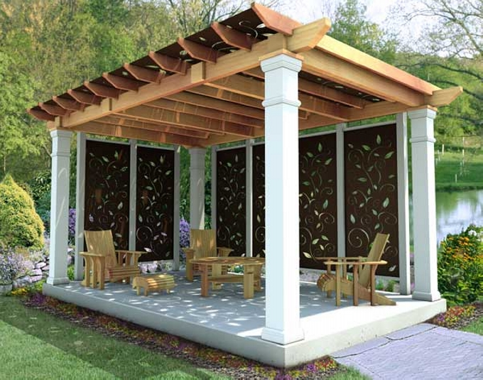Purchasing Pergola Furniture 1