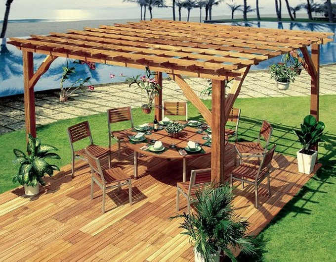 Purchasing Pergola Furniture 16
