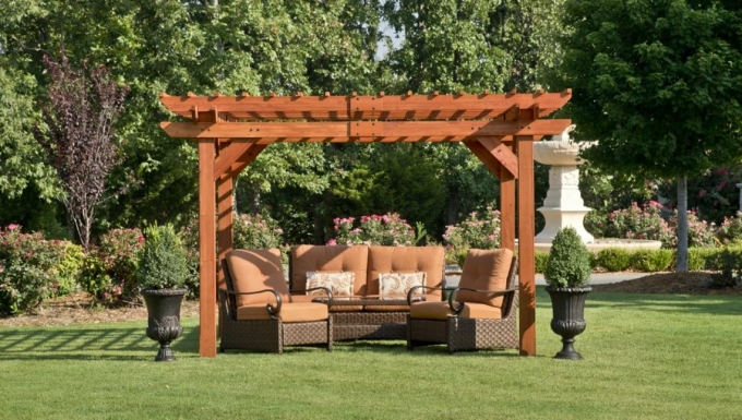 Purchasing Pergola Furniture 5