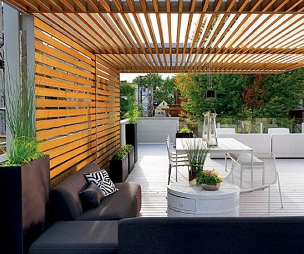 Patio Deck Pergola Ideas 1
