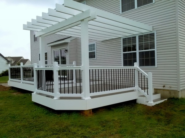 Patio Deck Pergola Ideas 10