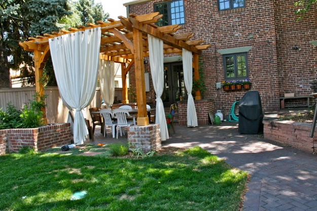 Patio Deck Pergola Ideas 12