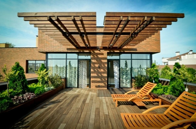 Patio Deck Pergola Ideas 2