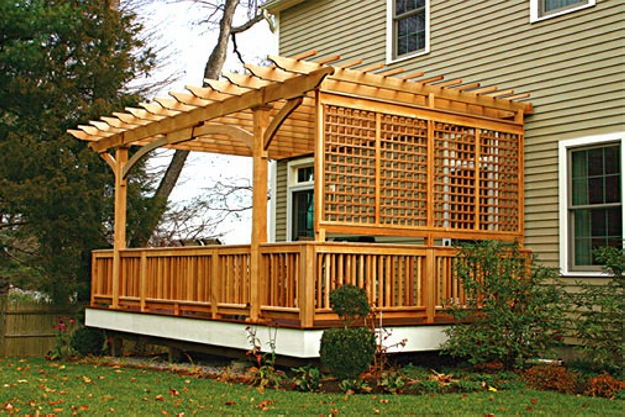Patio Deck Pergola Ideas 4