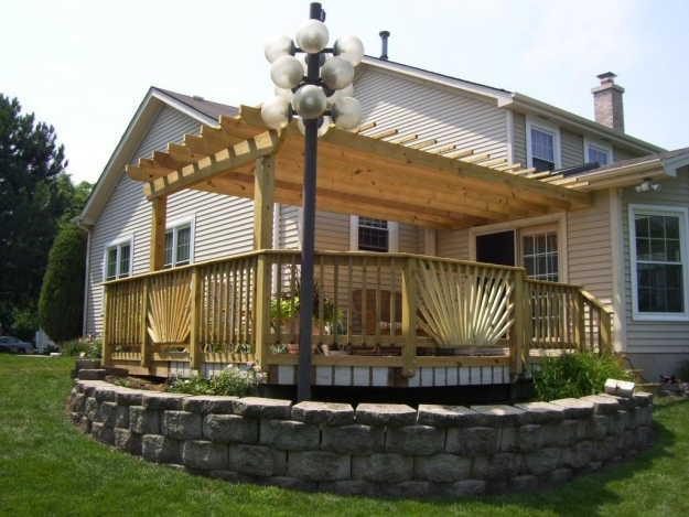 Patio Deck Pergola Ideas 8