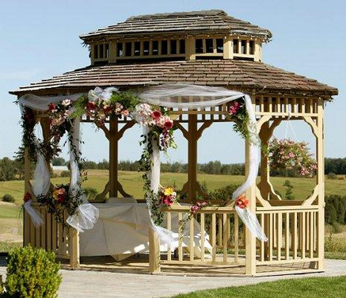 Gazebo Decoration Ideas 1