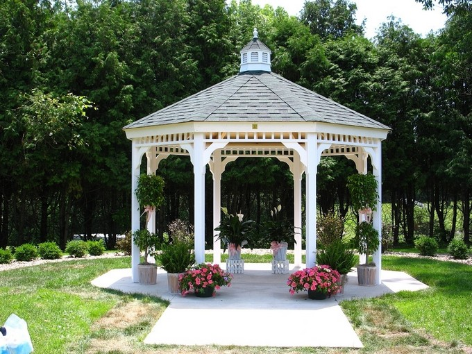 Gazebo Decoration Ideas