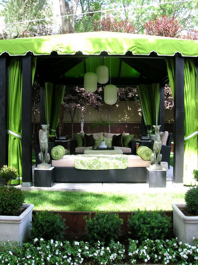 Gazebo Decoration Ideas 3