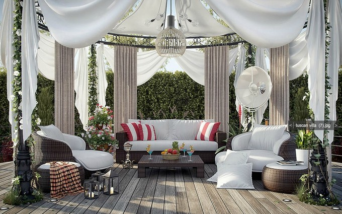 Gazebo Decoration Ideas 4