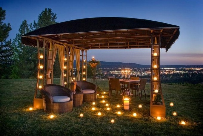 Gazebo Decoration Ideas 7