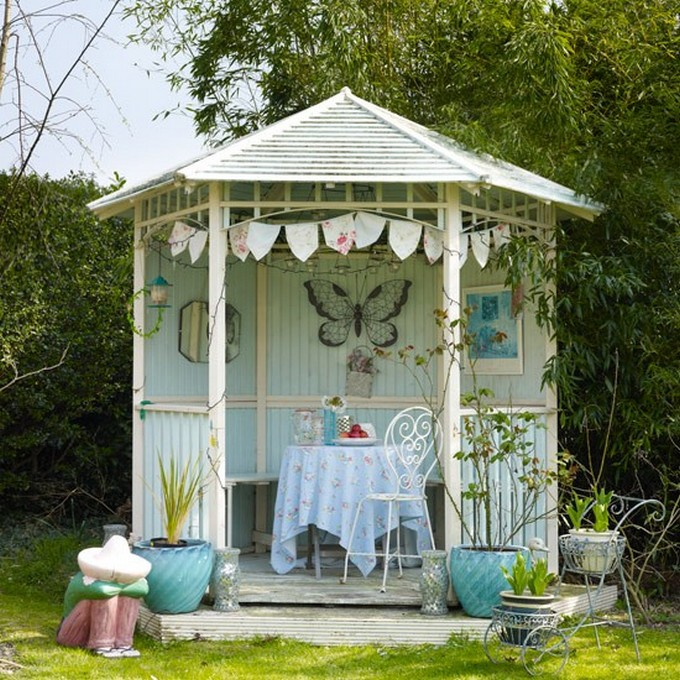 Gazebo Decoration Ideas 9