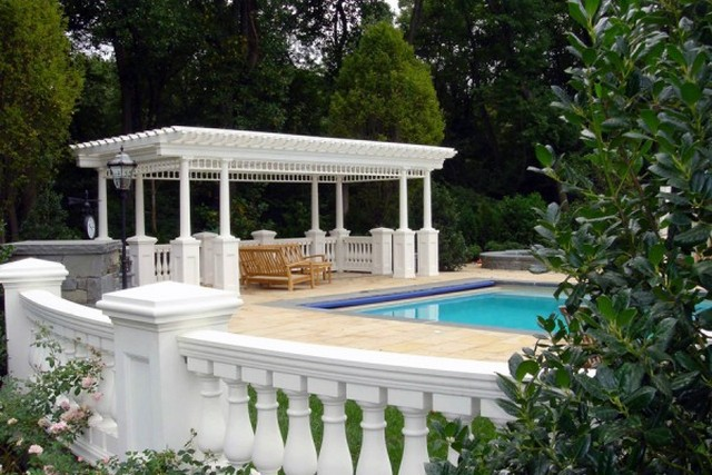 Pool Pergola Ideas 1