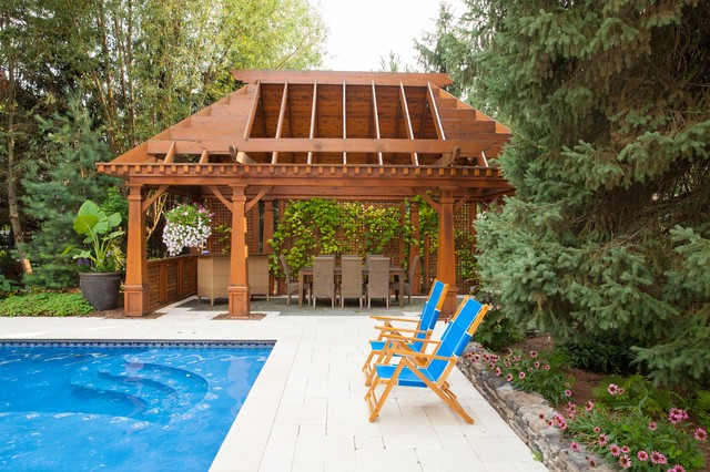 Pool Pergola Ideas 3