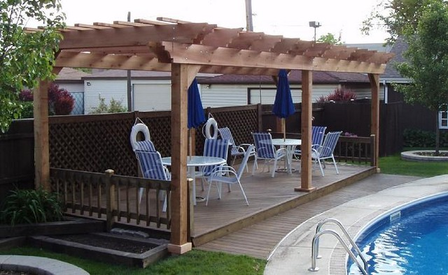 Pool Pergola Ideas 6