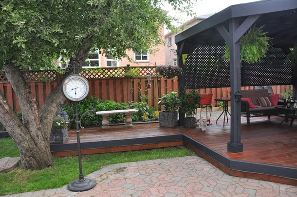 Unique Deck Gazebo 1