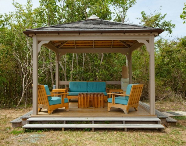 Unique Deck Gazebo 12
