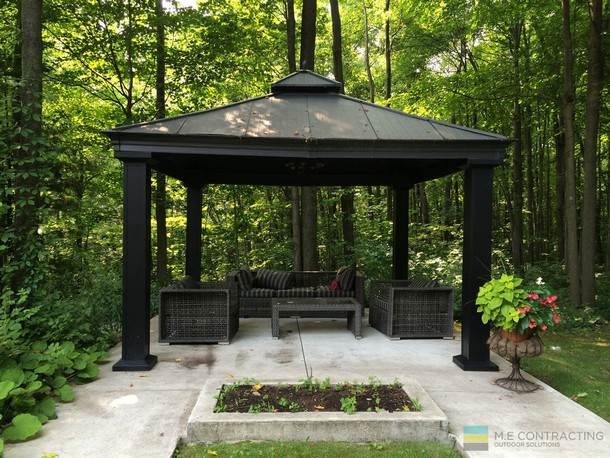Unique Deck Gazebo 2