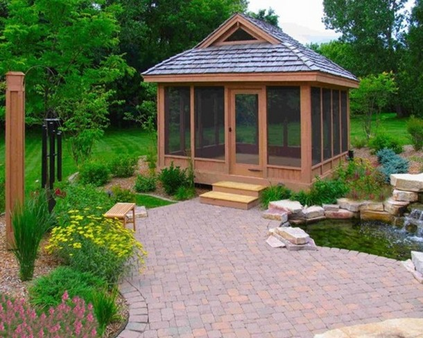 Unique Deck Gazebo 3