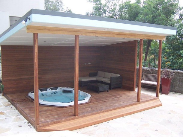 Unique Deck Gazebo 7