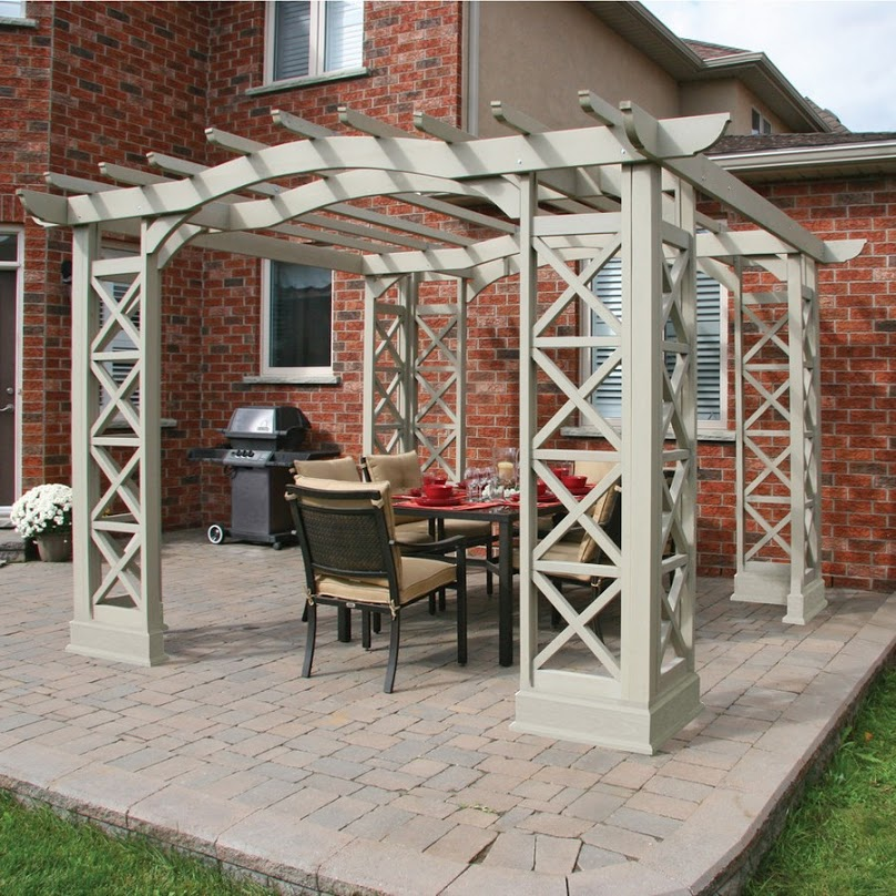 Front Yard Pergola Designs in Stunning Styles