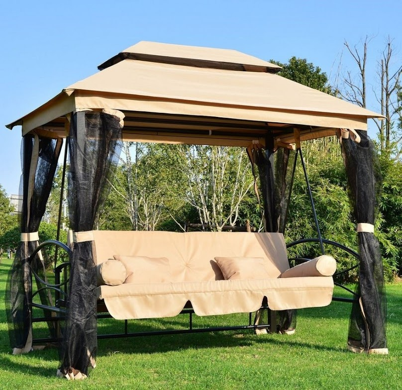 Stunning Swing Gazebo Ideas