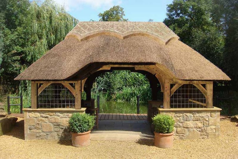 Thatched Roof for Gazebos 7