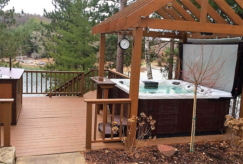 Hot Tub Pergola Decks 4