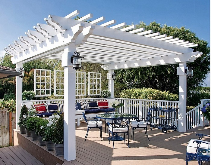 Pergola gazebos ideas designs and diy plans - Build rectangular gazebo guide models ...