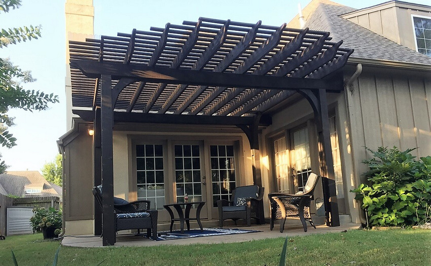 Attached Pergola Designs 21