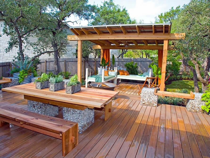 Pergola on Deck Design