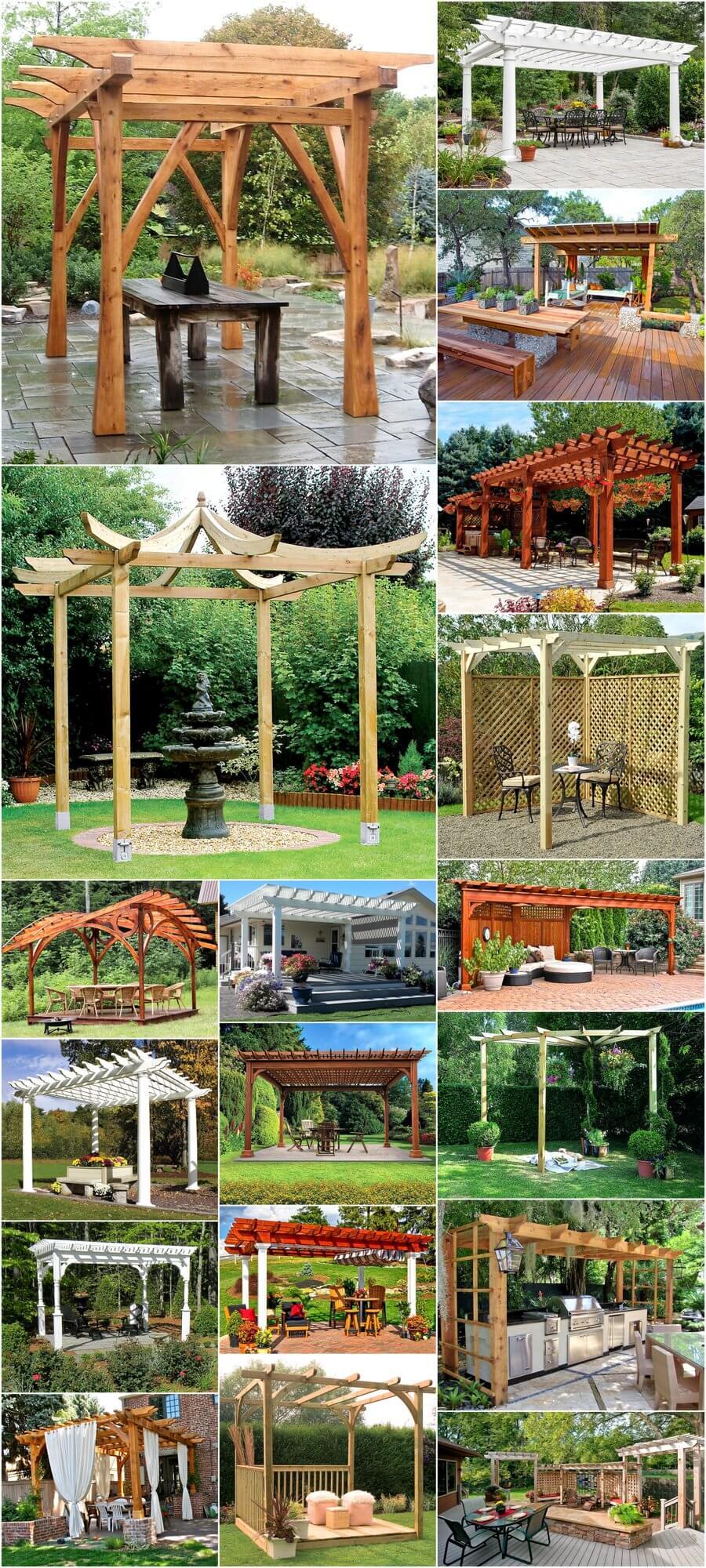 Steps Towards Designing Your Pergolas in Garden