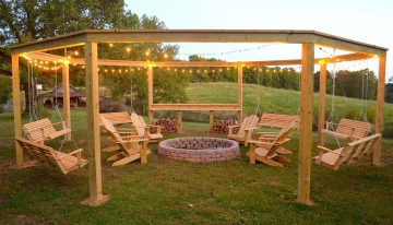 Have You Ever Thought of Adding Swing to Your Pergola ?
