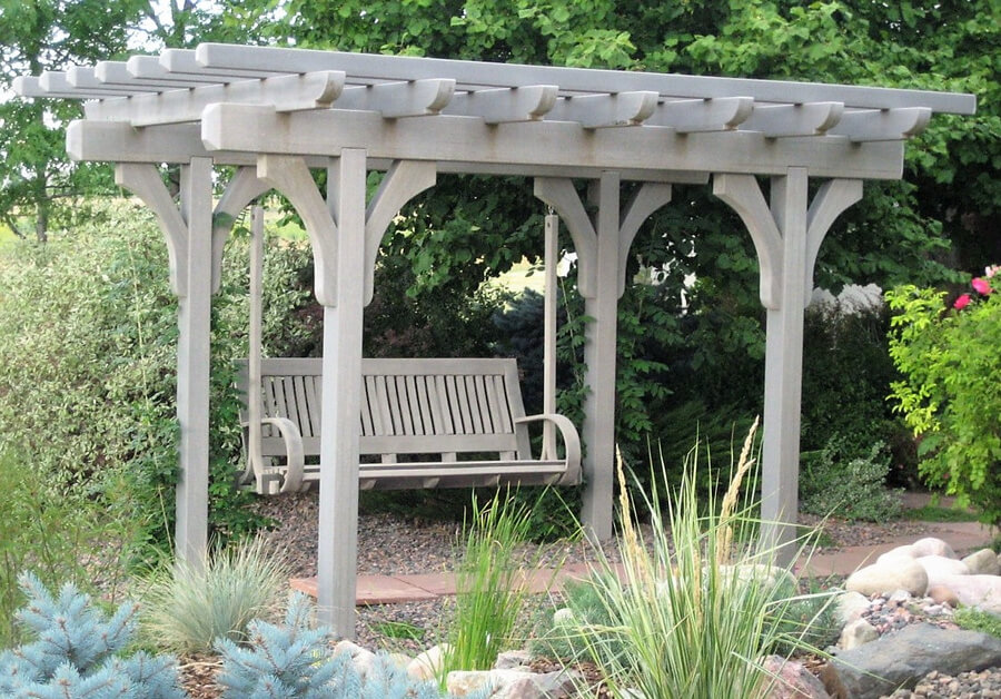 Swing Pergola Ideas 3