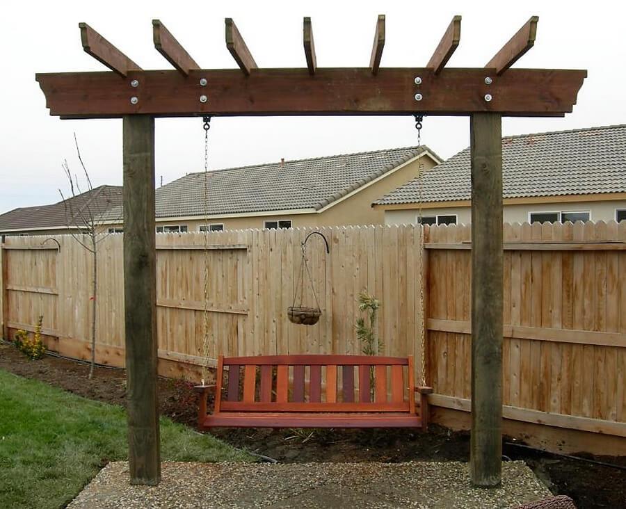Swing Pergola Project