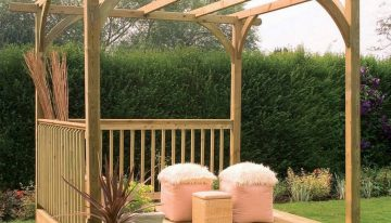 Steps Towards Designing Your Pergolas in Garden