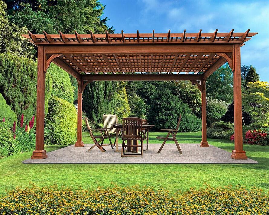 garden pergola kit