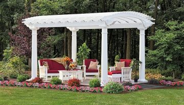 Try Wonderful and Attractive Yard Pergola