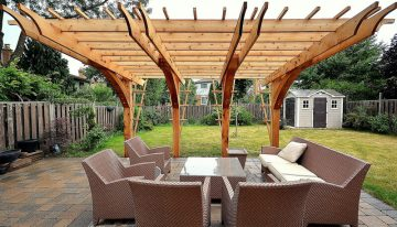 What About A Pergola Deck Dining Room