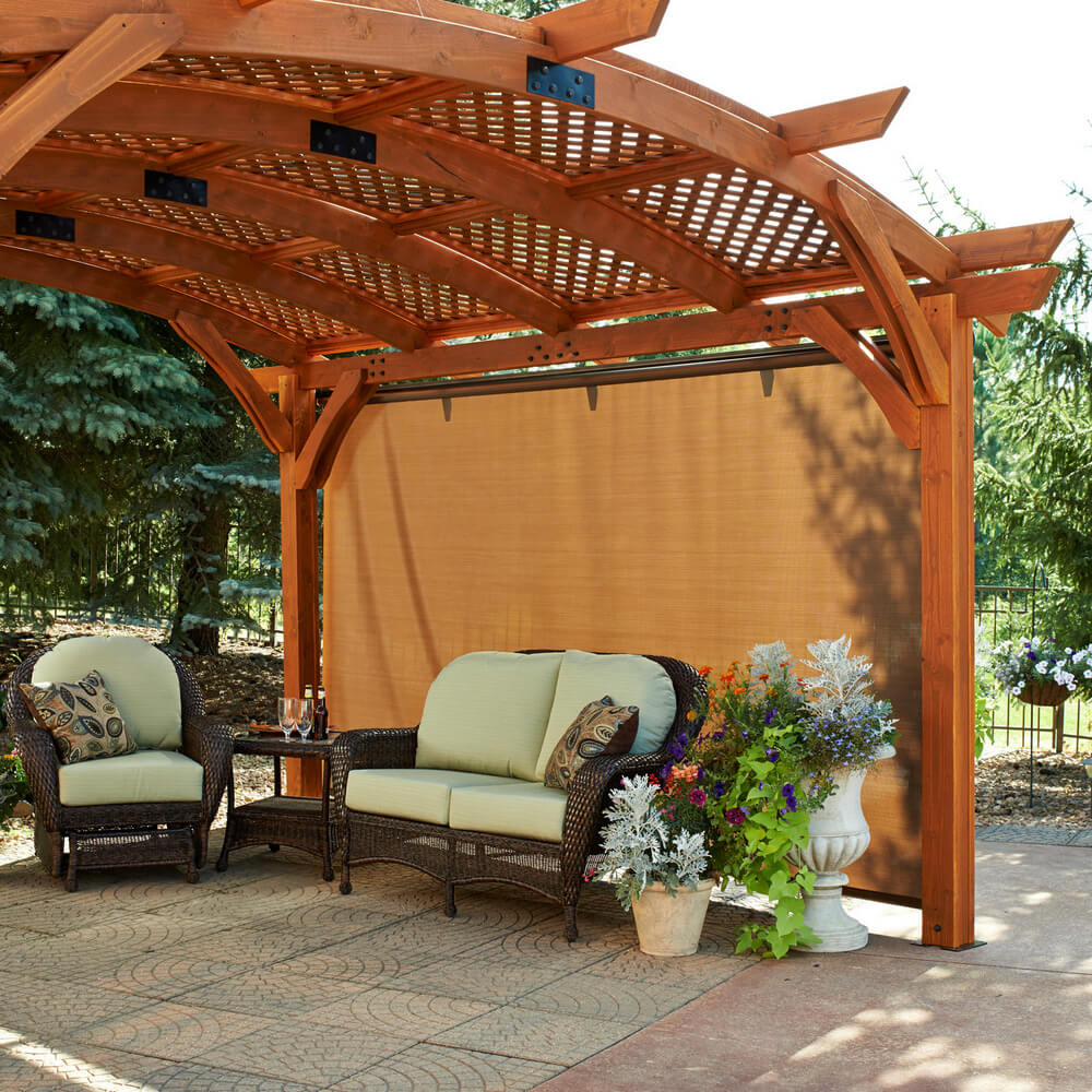 pergola furniture ideas 10